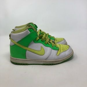 Nike Dunk Highs. 2007. Men's 8